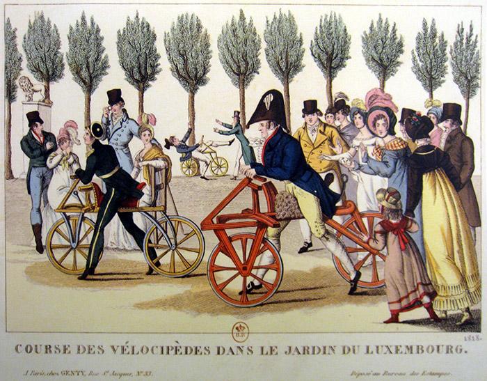 О слове «велосипед» - velocipedes