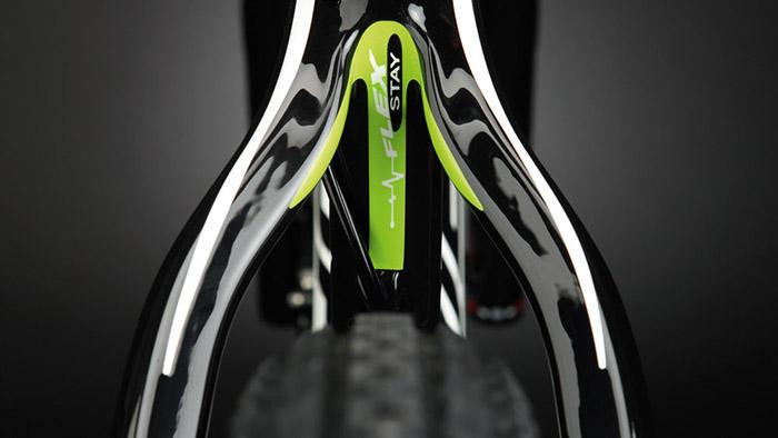 Технологии велосипедов MERIDA: Flex Stay