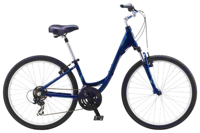 Цвет велосипеда: Синий велосипед Schwinn Sierra 1 Step-Thru