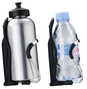 Тюнинг велосипеда: обзор аксессуаров - Флягодержатель с велофлягой и бутылкой воды