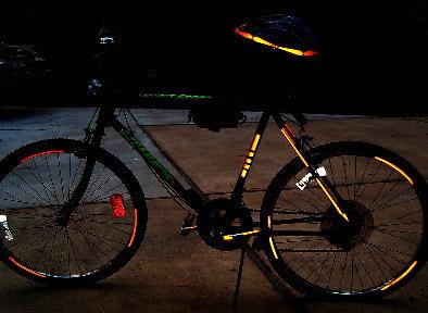 Тюнинг велосипеда: обзор аксессуаров - световозвращатели (катафоты) на велосипедах