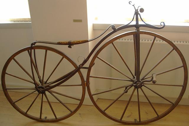 Как появился велосипед. Велосипед Лалмана