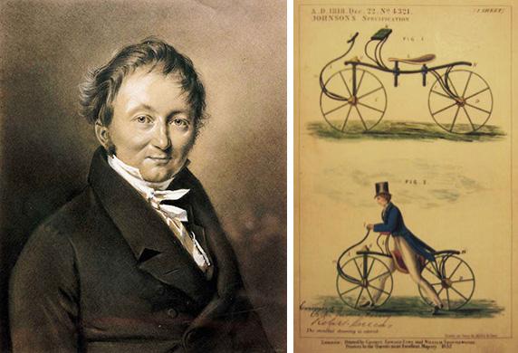 Как появился велосипед. Барон Карл фон Дрез/