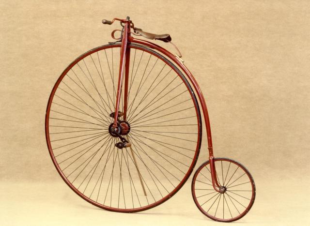Как появился велосипед. Пенни-фартинг.